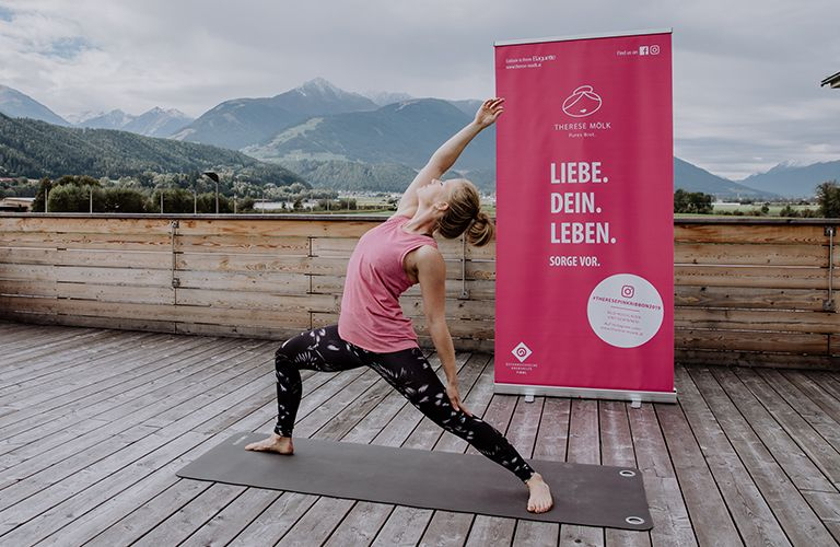 Pink Ribbon Yoga
